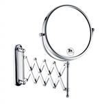 "Bristan Complementary Extending Shaving Mirror 8"" COMP EXTMR C"