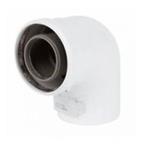 Baxi Multifit Group A Flue Bend 93degrees (In Line)