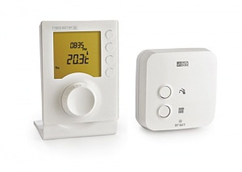 delta dore tybox 827 rf programmable room thermostat. Black Bedroom Furniture Sets. Home Design Ideas