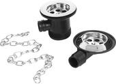 Bristan Economy Bath Waste with ABS Plug Slotted W BATH02 C