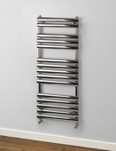 Rads 2 Rails Oval 1200x500mm Polished Towel Rail PAP-120-H-50