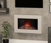 "BeModern Albali 38"" Wall Mounted Electric Fire 144047ST"