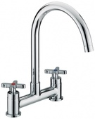 Bristan Design Utility X-Head Deck Sink Mixer DUX DSM C