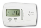 Drayton Digistat + 2 1 Day Programmable Room Thermostat (24 Volt Battery) 22084