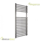 Abacus Direct Elegance Strato Towel Warmer 1250 x 600 Chrome