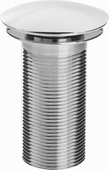 Bristan Round Clicker Basin Waste Unslotted W BASIN05 C