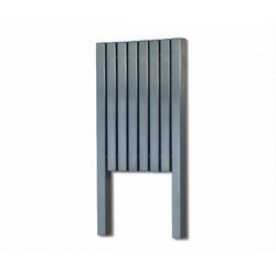 Aeon Kare L 760 x 390 Designer Towel Rail (Brushed) KRL8-7660