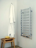 Ultraheat Karnak 1000x500 Towel Rail White (5K10W)