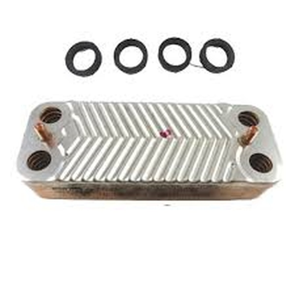 Glow worm 24kw Plate to Plate Heat Exchanger 0020061614