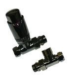 Abacus Ultima TRV8 10/15mm Valve Pk Straight Black Nickel