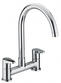 Bristan Quest Deck Sink Mixer QST DSM C