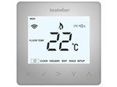 Heatmiser NeoAir Smart Thermostat - Platinum silver