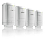 Honeywell HR914 EvoHome Radiator Controller 4 Pack