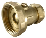"Pump Valves 22mm x 1 1/2"" (Ball Type)"