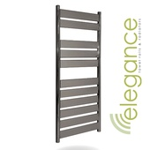 Abacus Direct Elegance Plana Towel Warmer 1200 x 500 Anthracite