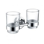 Bristan Solo Double Tumbler & Holder SO DHOLD C