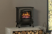 BeModern Colman 1.8kw Electric Stove Matt Black 144056BK