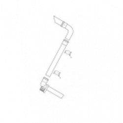 Baxi Multifit Plume Displacement Kit (White) 720627001